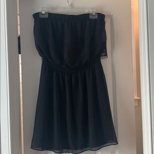 Strapless Black Express Dress